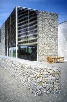 Gaviones De Piedra En Arquitectura Belleza Durabilidad