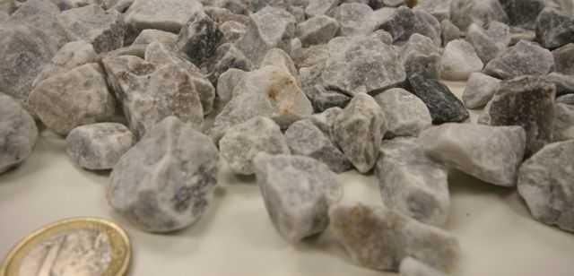 Decorative Grey Crushed gravel