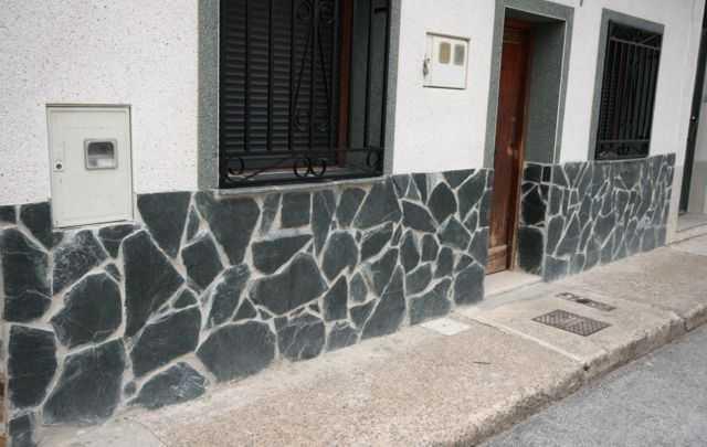 Piedra Negra Planchon  Piedra Irregular  Pavimentos Y Solados De
