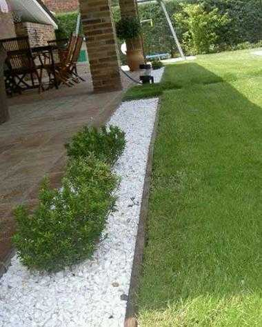 Piedra blanco puro macael en canteras el cerro for Jardines de piedras blancas
