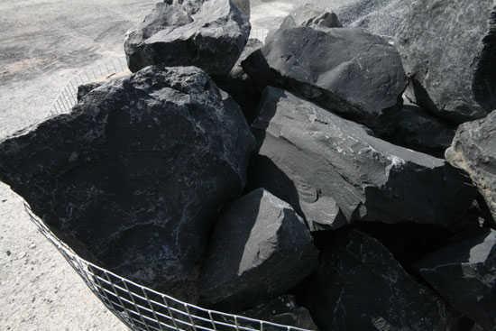 Jaulas de piedras de gran tamaño, en cesta de alambre galvanizado