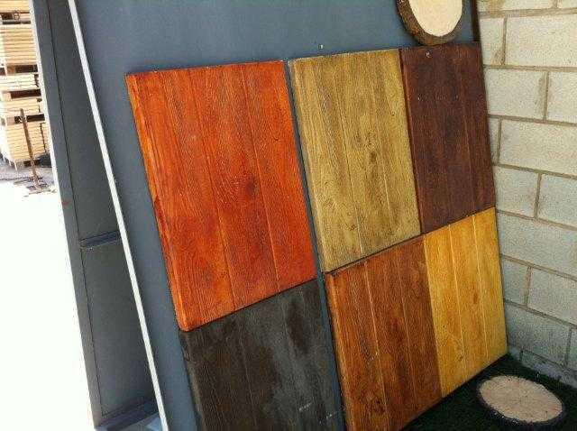 bois de chêne, bois de pin, teka, nogal