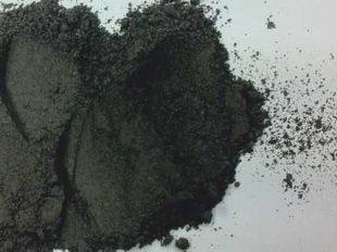 Arena micronizada de color negro