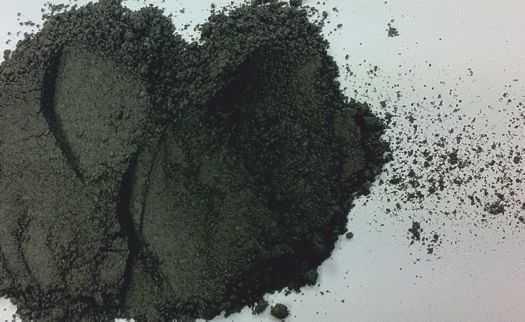 Black micronised sand