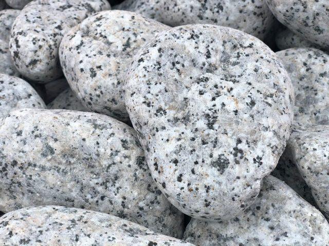 Galet Granit blanc