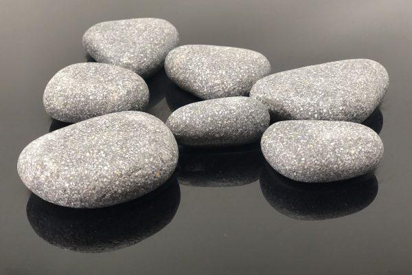 Canto rodado gris micro marmol