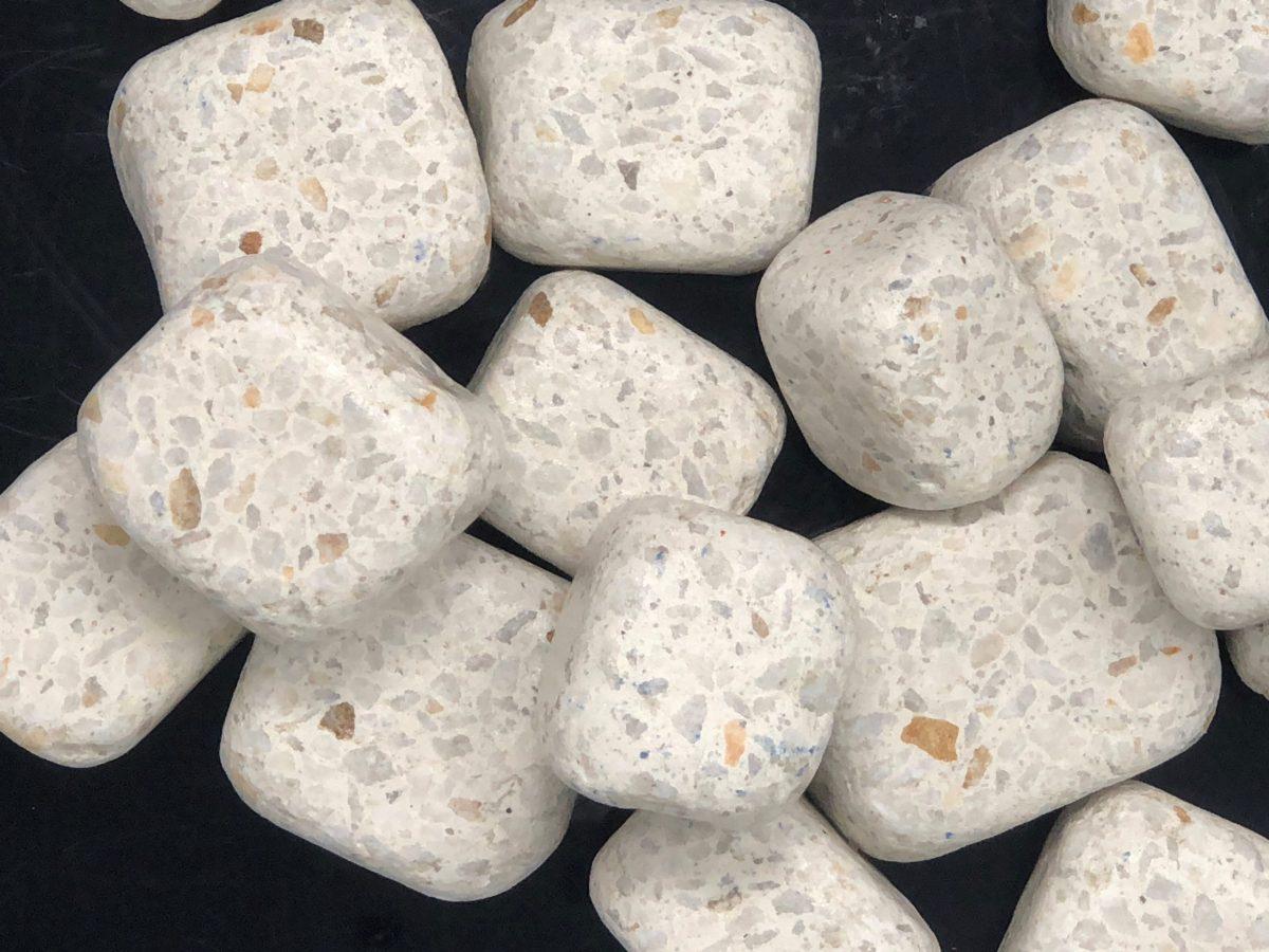 Dados marmol blanco micromarmol