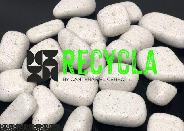 Galets et graviers recyclé durables