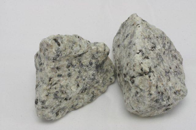 Piedra blanca para rellenar gaviones