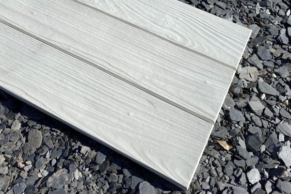 Losa de hormigon imitacion madera blanca