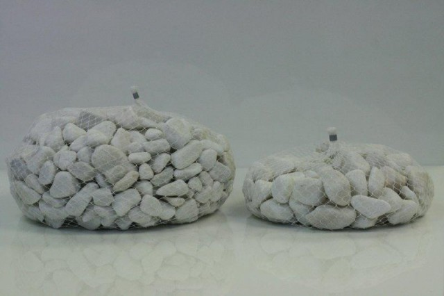 sacs pierres decoratives