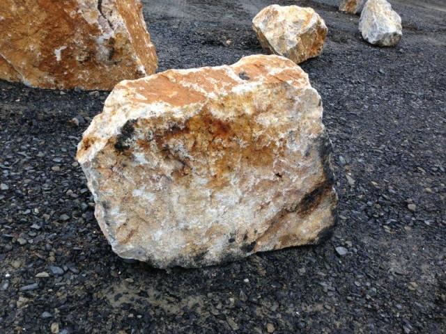 Rocks to create Japanese gardens