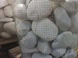 Gros galets decoratifs gros galets blanc