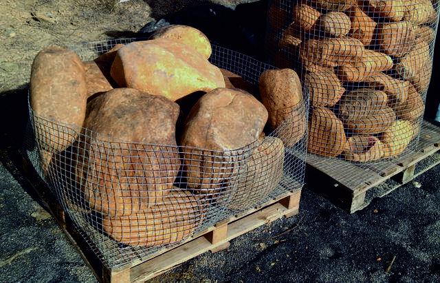 Boulders size 300-500mm