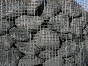 Galets et gros galets décoratifs Noir