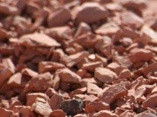ladrillo triturado, grancilla terracota, arido refractario, chamota