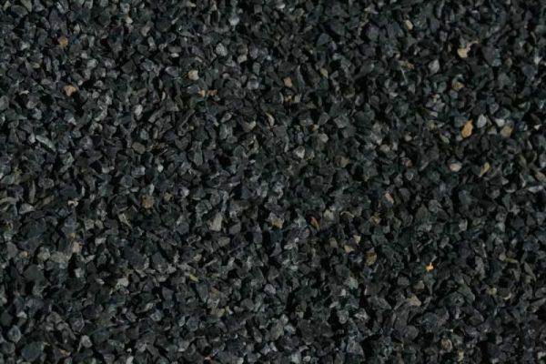 Grava negra decoracion jardines, marmolina negra