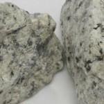 Granito blanco triturado