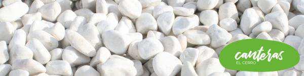 Pierres blancs pour jardin galets et gravier roule blanc