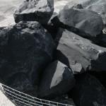 Roca en jaula para rocalla