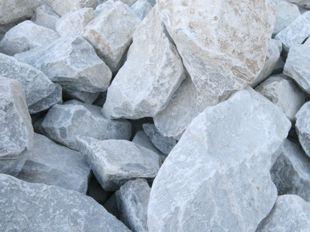 Roche marbre Blanc
